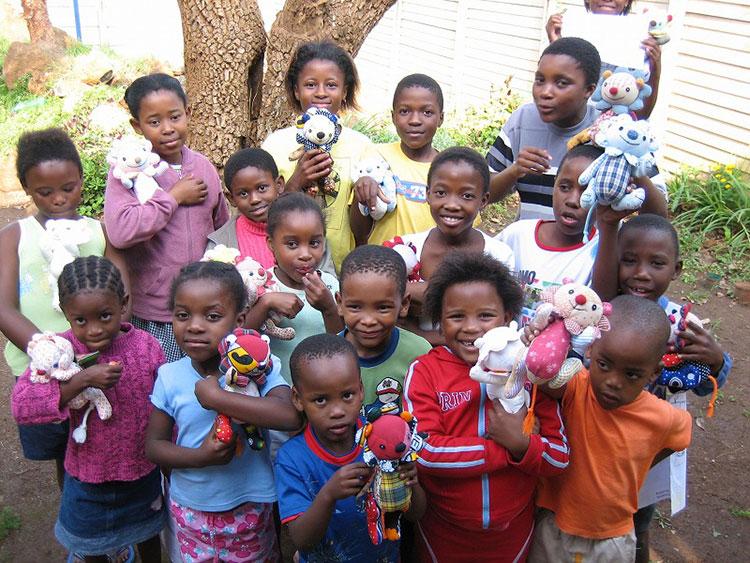2006年南アフリカの子どもたち
