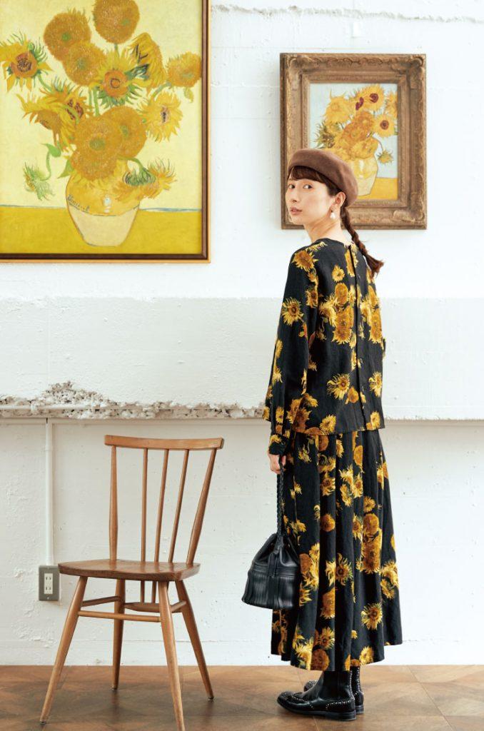『サニークラウズ』が、芸術の秋にちなんで「世界の名画」をテーマに服を作りました。