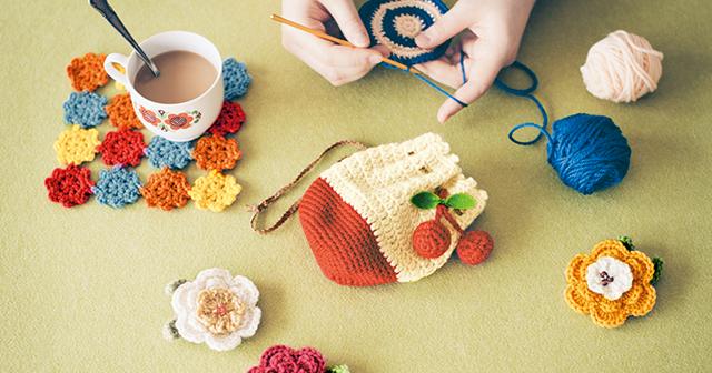 この夏、かぎ針編み講座(大阪)を開講します!
