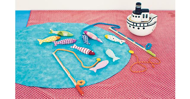 親子で作って楽しむ夏休み自由研究「カラフル熱帯魚の釣りセット」