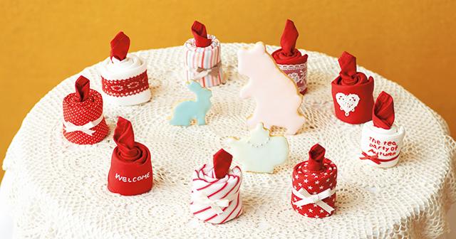 親子で楽しめるキャンドル型ナプキン★ハロウィーンで作ってみよう!