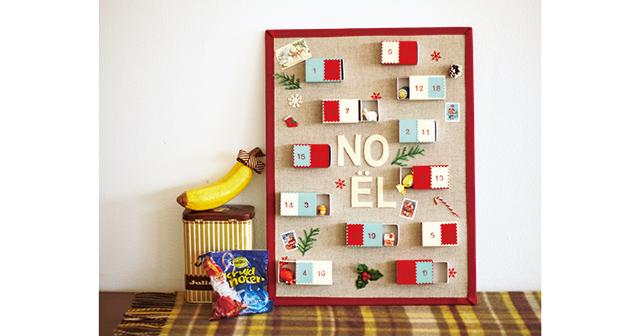 親子でわくわくクリスマス☆ アドベントカレンダーを作ろう!