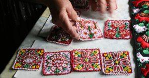 伝統刺繍を教えてくれたおばあちゃんとの出会い