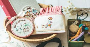 刺繍作家・石井寛子さんが刺繍キットに込める思い