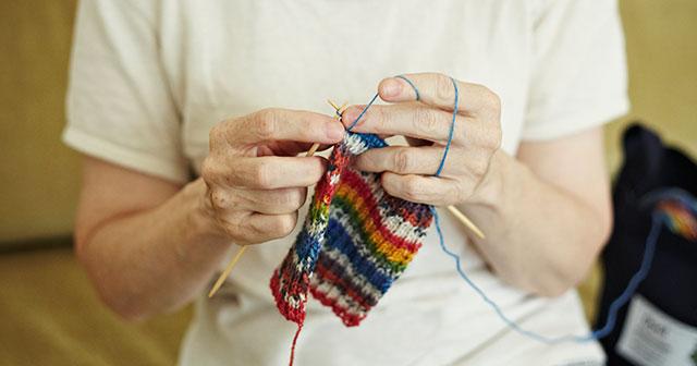 毛糸でつながる思い マルティナさんと気仙沼の仲間の輪