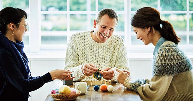 ニッターテインメント。それは、編み物を、人生を楽しむこと。