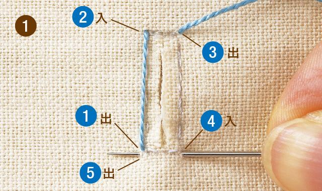 ボタンホールの作り方5
