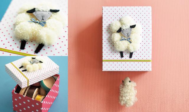ポンポン羊ボックス