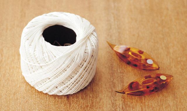 タティングレース 材料と道具