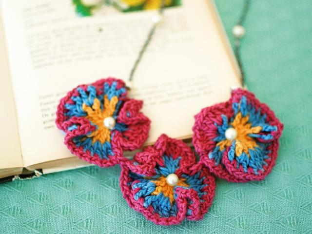 編み物で簡単に作れるかわいい小物たち