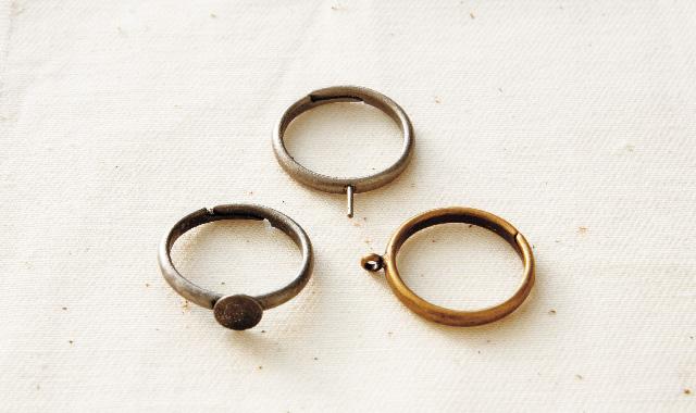 指輪 パーツ