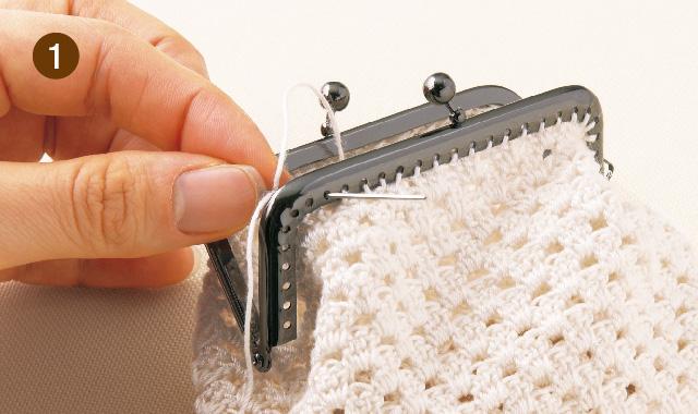 縫い付けるタイプ 手順①