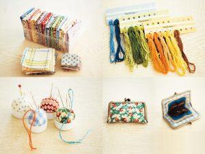裁縫道具や材料のスマート収納