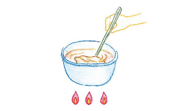 コーヒー染め・紅茶染め 手順③