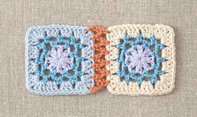 くさり編みでつなぐ 手順②