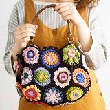 ほっこりカラーを編みつなぐ かぎ針編みモチーフの会