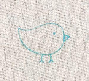 図案の写し方とコツ ~刺繍~