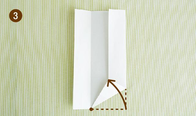 六角形 折り方 手順③