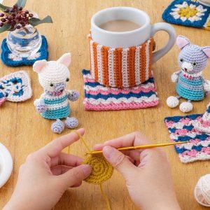 ゆっくりじっくりマイペースでレッスン かぎ針編み「はじめてさんのきほんのき」の会