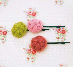 かぎ針編みの模様|玉編みの編み方