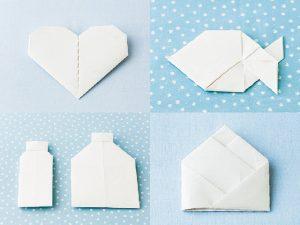 かわいい手紙の折り方