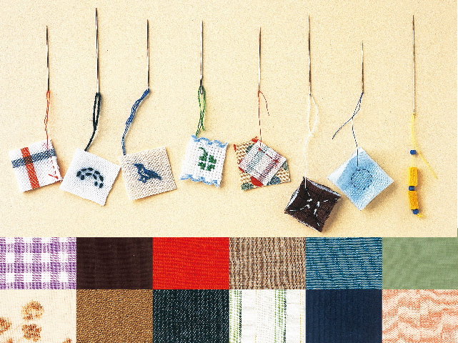 基本となる裁縫道具−針・糸・布の種類や便利な道具をご紹介