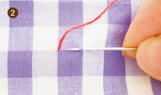 スモック刺繍 スモッキング をしてみましょう! 手順②