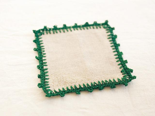 ふち編みのやり方
