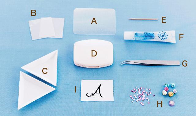 デコレーション 材料と道具