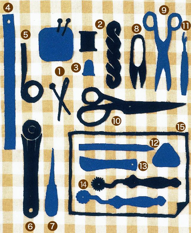 裁縫の基本