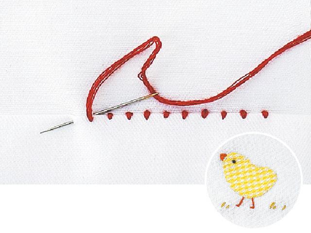 裁縫の基本−なみ縫い・まつり縫い・返し縫いの縫い方