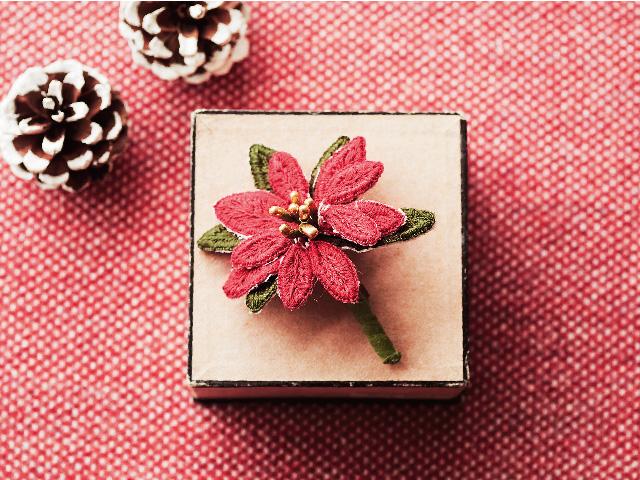 スタンプワークのやり方~立体刺繍でお花を作りましょう