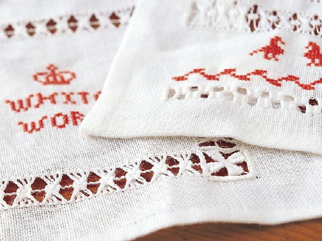 白糸刺繍の基本の刺し方