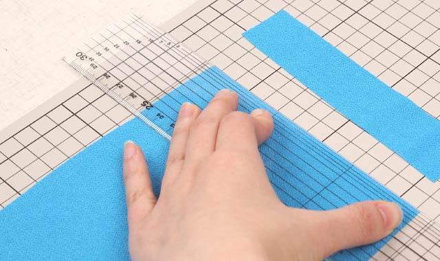 ロータリーカッター 布の切り方⑥