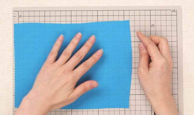 ロータリーカッター 布の切り方①