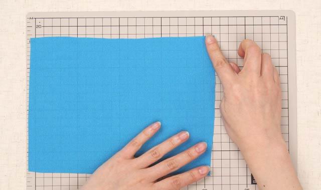 ロータリーカッター 布の切り方②