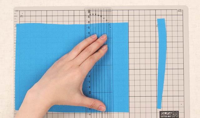 ロータリーカッター 布の切り方⑤