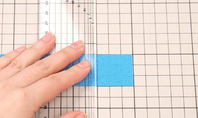 ロータリーカッター 布の切り方⑨
