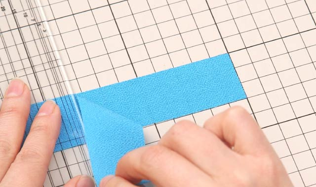 ロータリーカッター 布の切り方 POINT3