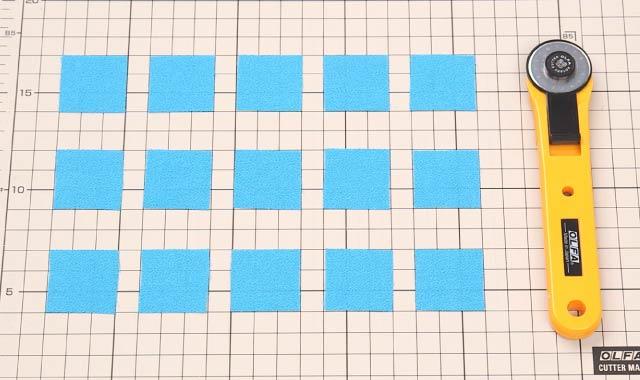 ロータリーカッター 布の切り方11