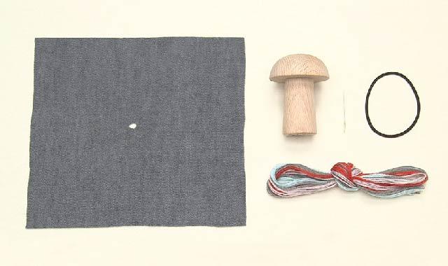 ダーニングマッシュルーム 道具・材料