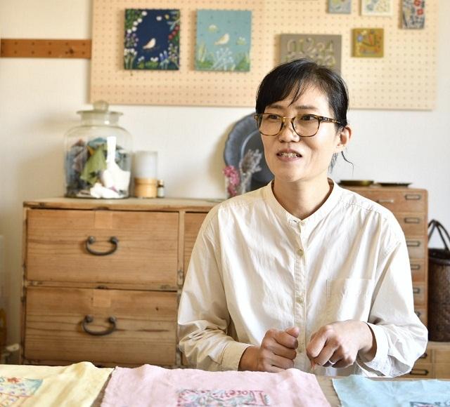 刺繍作家マカベアリスさんインタビュー1