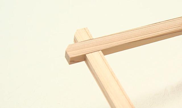 ニャンドゥティ 木枠を組み立てて、布を張りましょう 手順②