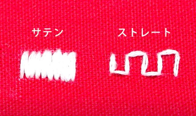 フリーステッチングニードル アレンジ例②