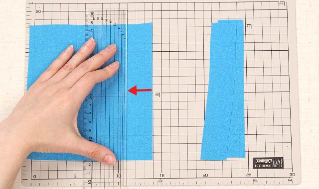 ロータリーカッター 布の切り方⑧