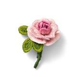 多彩な花を咲かせて立体的な刺しゅうを楽しむ スタンプワークの会