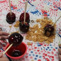 プチりんごあめを作ってみました!