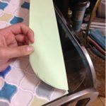お掃除の手間を減らせ!ガラステーブルをタイルシールで簡単リメイク