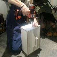 曲線カット&ダボ埋めテクニックで、ツールボックスを作る!