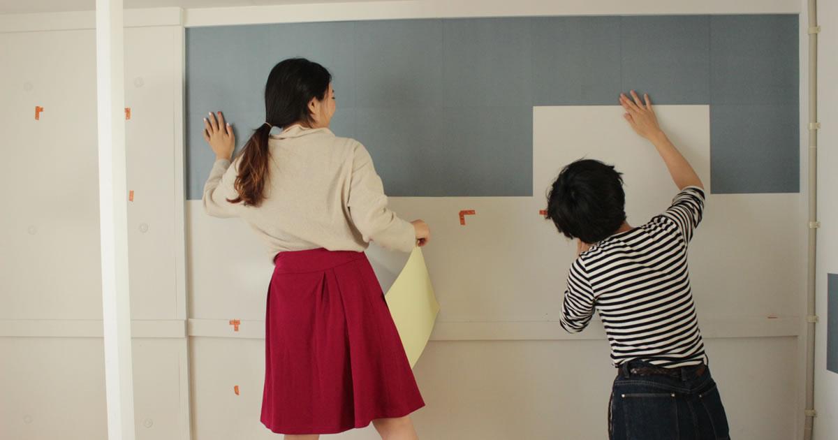 あこがれの外国風のおしゃれ部屋にわがまま女子の簡単diy壁 編